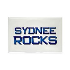sydnee rocks Rectangle Magnet