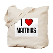 I LOVE MATTHIAS Tote Bag