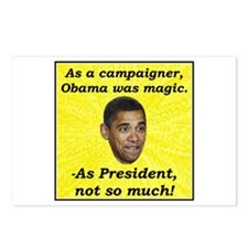 """""""Obama Magic"""" Postcards (Package of 8)"""