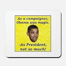 """""""Obama Magic"""" Mousepad"""