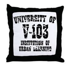 University of V-103 Throw Pillow