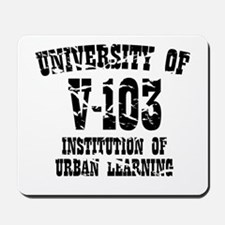 University of V-103 Mousepad