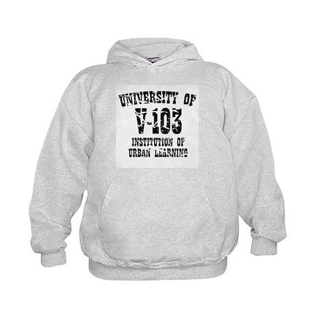 University of V-103 Kids Hoodie