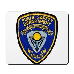Sunnyvale Public Safety Mousepad