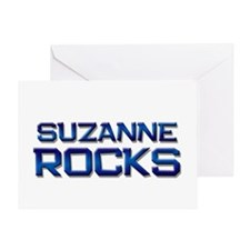 suzanne rocks Greeting Card