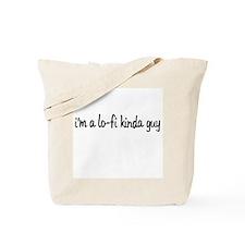 im a lo-fi kinda guy Tote Bag
