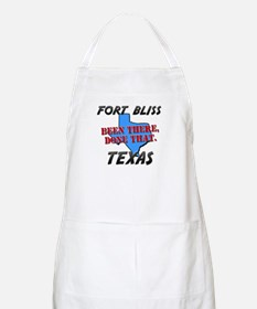 fort bliss texas - been there, done that BBQ Apron