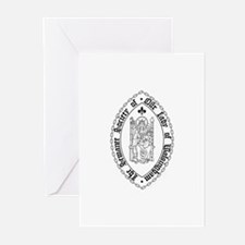 Sewanee Walsingham Cards w/blank inside (Pk of 20)