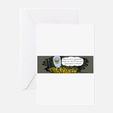 Cool Kingfeatures Greeting Cards (Pk of 20)
