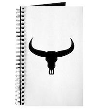 Bull Skull head Journal