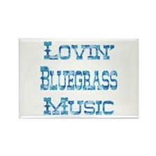 Bluegrass Rectangle Magnet