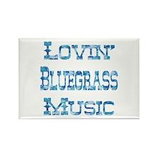 Bluegrass Rectangle Magnet