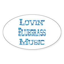 Bluegrass Oval Decal