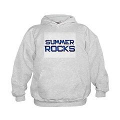 summer rocks Hoodie