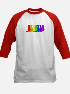 Rainbow Ridgeback Kids Baseball Jersey