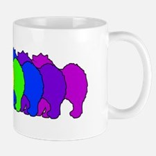 Rainbow Samoyed Mug