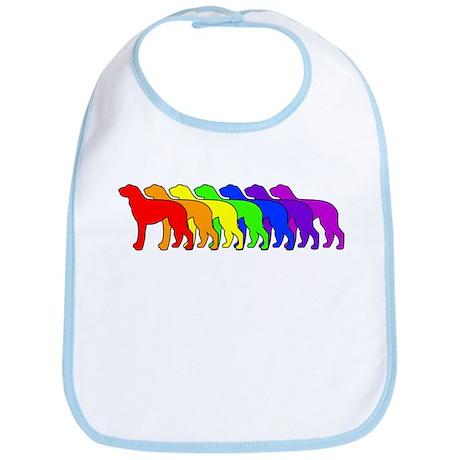 Rainbow Deerhound Bib