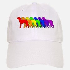 Rainbow Deerhound Baseball Baseball Cap