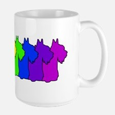 Rainbow Scottie Mug