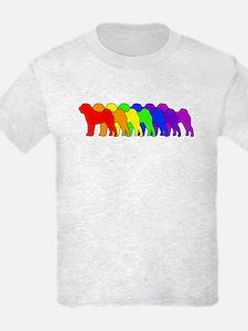 Rainbow Shar Pei T-Shirt