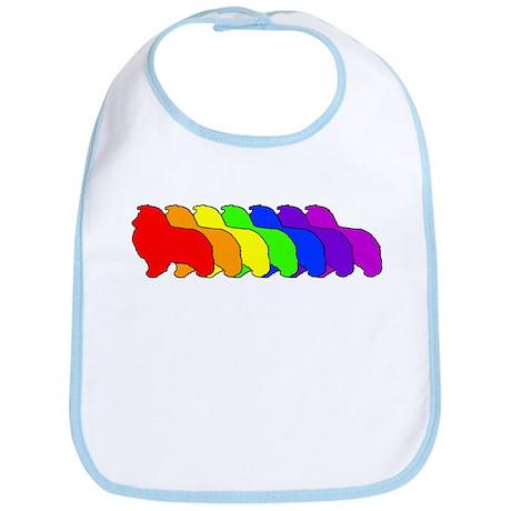 Rainbow Sheltie Bib