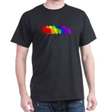 Rainbow Sheltie T-Shirt