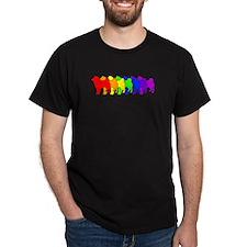 Rainbow Shiba Inu T-Shirt