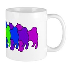 Rainbow Shiba Inu Mug