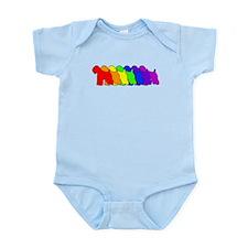Rainbow Wheaten Infant Bodysuit