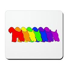 Rainbow Wheaten Mousepad