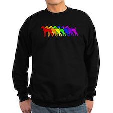 Rainbow Vizsla Sweatshirt