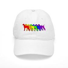 Rainbow Vizsla Baseball Cap