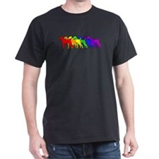 Rainbow Vizsla T-Shirt