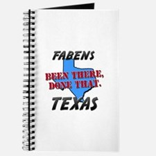 fabens texas - been there, done that Journal