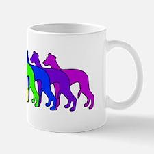 Rainbow Whippet Mug