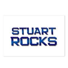 stuart rocks Postcards (Package of 8)
