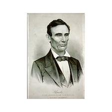 Abraham Lincoln Bicentennial Rectangle Magnet