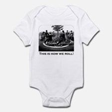 This Is How We Roll Infant Bodysuit
