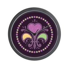 Krewe of Love Wall Clock