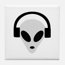 DJ Alien Tile Coaster