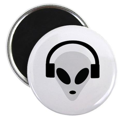 """DJ Alien 2.25"""" Magnet (100 pack)"""