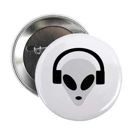 "DJ Alien 2.25"" Button"