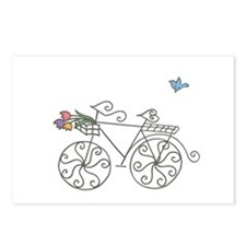 Garden Bike Postcards (Package of 8)