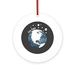 Ice Age Ornament (Round)