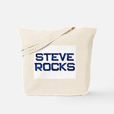 steve rocks Tote Bag