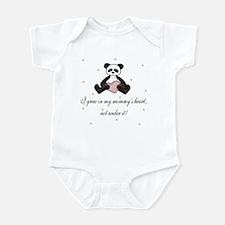 Grew in Mommy's Heart Adoption Infant Bodysuit