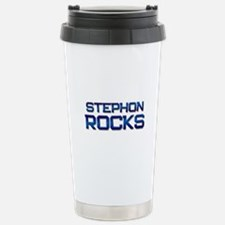 stephon rocks Stainless Steel Travel Mug