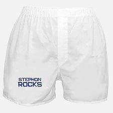 stephon rocks Boxer Shorts