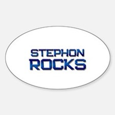 stephon rocks Oval Decal