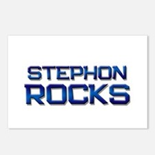 stephon rocks Postcards (Package of 8)